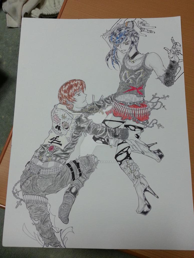 7 Min. to Reunion Main Art, As It Was by Yasuki-Konno