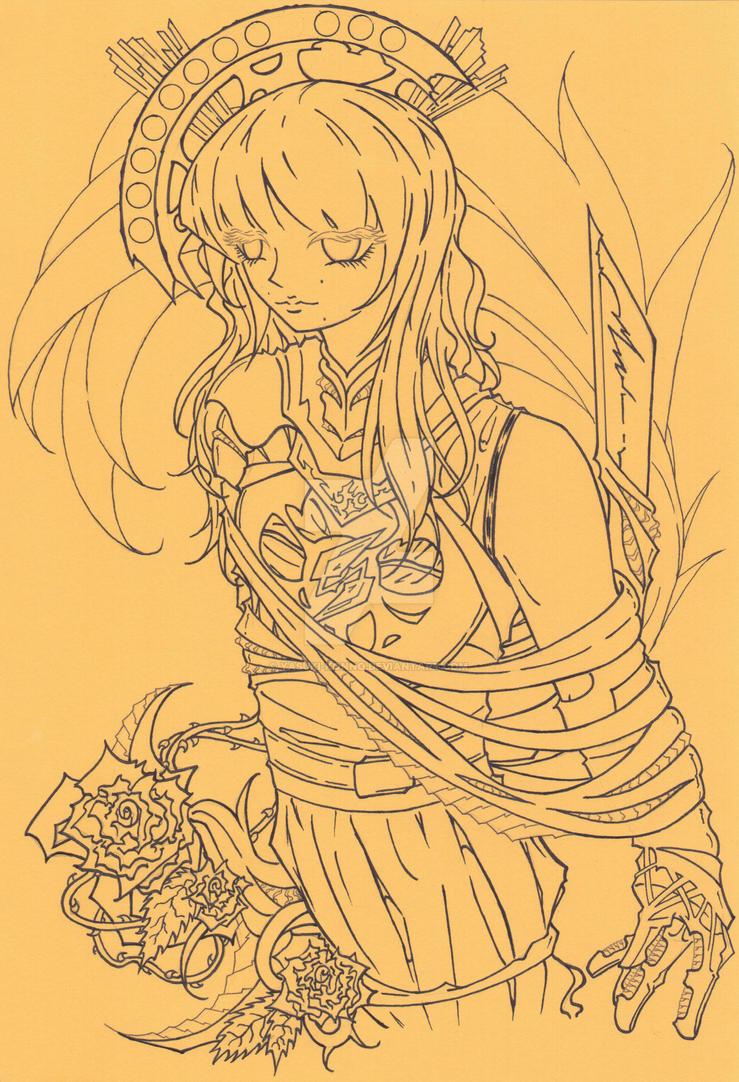 Gilt Goddess by Yasuki-Konno
