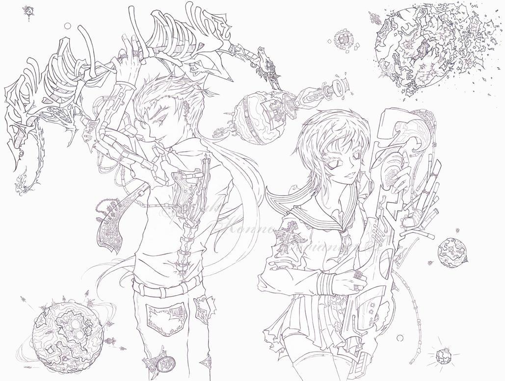 Cosmic Pariahs by Yasuki-Konno