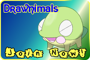 Drawnimals Join Now Banner by Rolyataylor2
