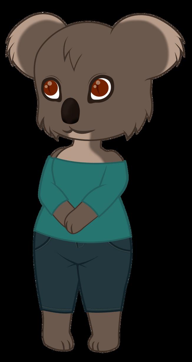 Chibi Koala Fursona By Babyhallow On Deviantart