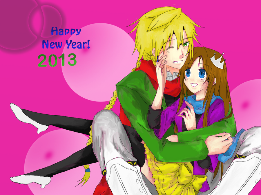 Happy New Years | 2013 by TrainerHarmony