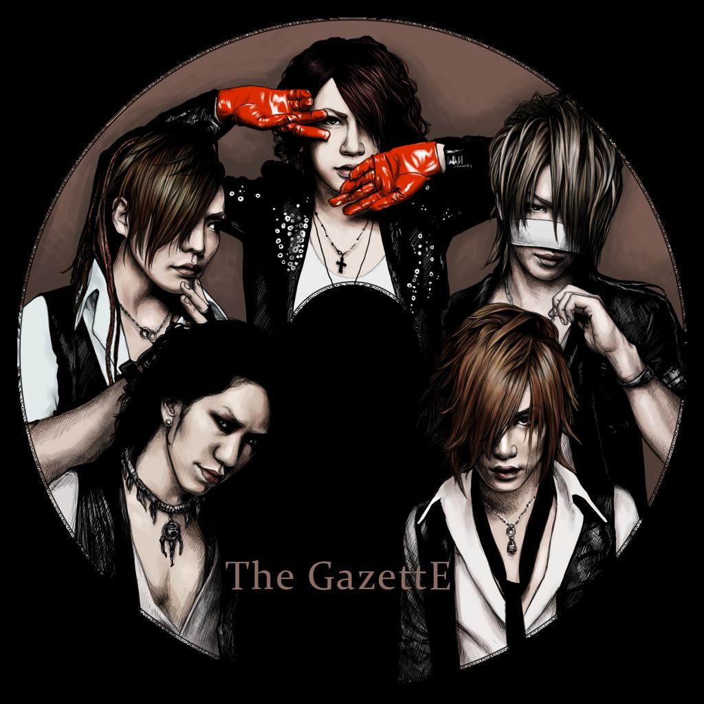 The GazettE - CD design by Rose333