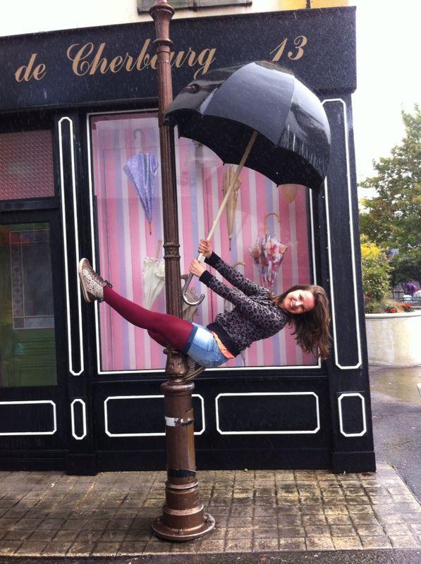 Dancing In The Rain In EuroDisney by DehPiccini
