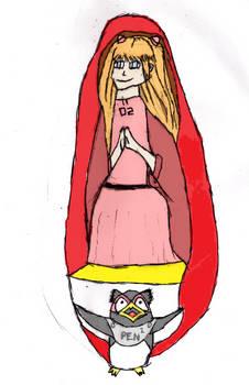 Asuka Langley Sohryu/Shikinami Virgin Mary Style