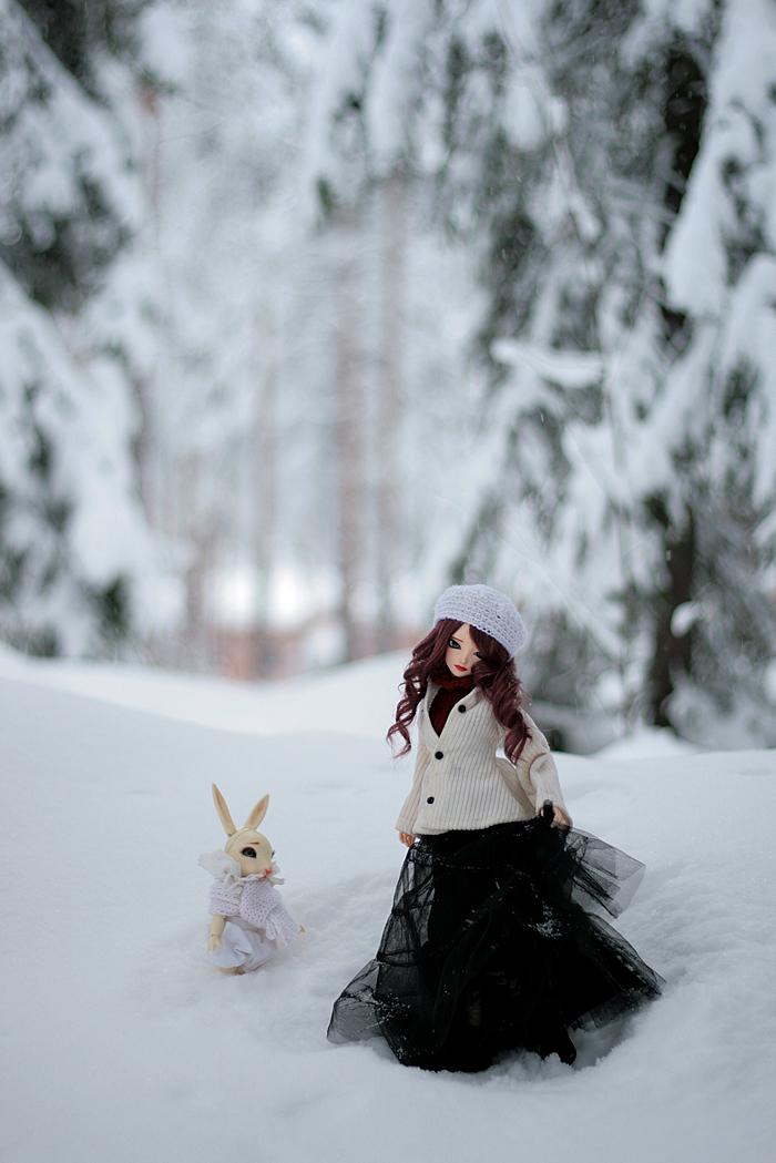 snowy winter iii by amomiu