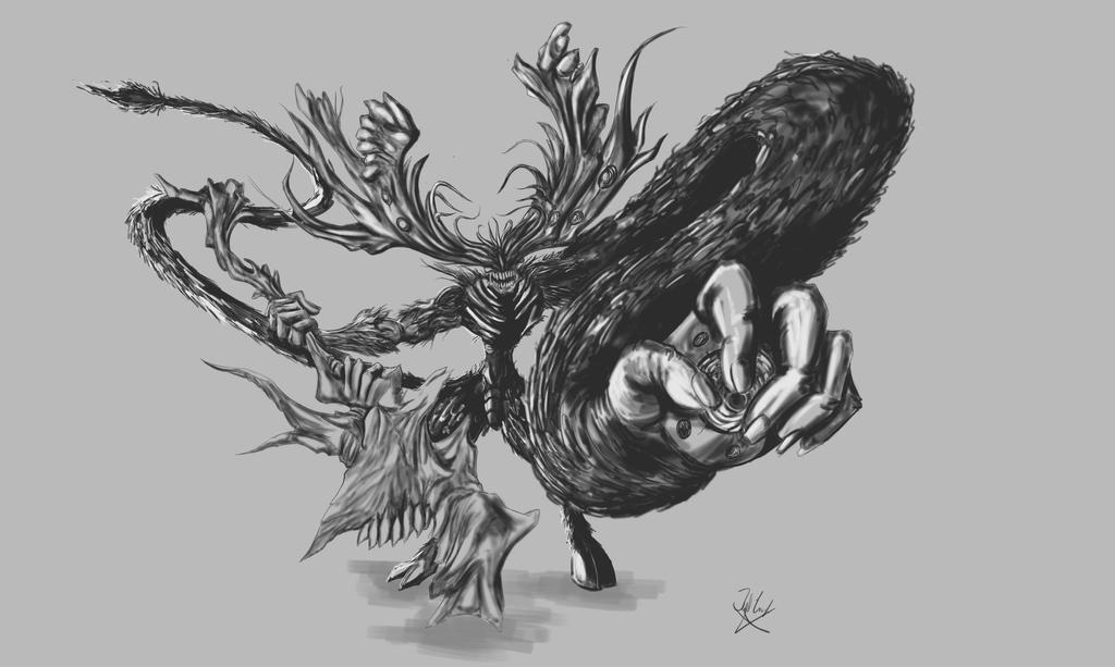 manus dark souls fanart by neometalero on deviantart