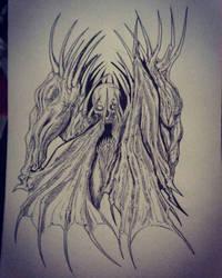 Creature Sketch 2018-06-18 by neometalero