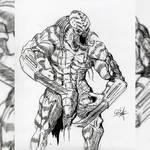 Mutated Predator by neometalero