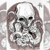 skull practice. by neometalero