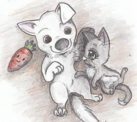 Baby Bolttens by Husky-Heart