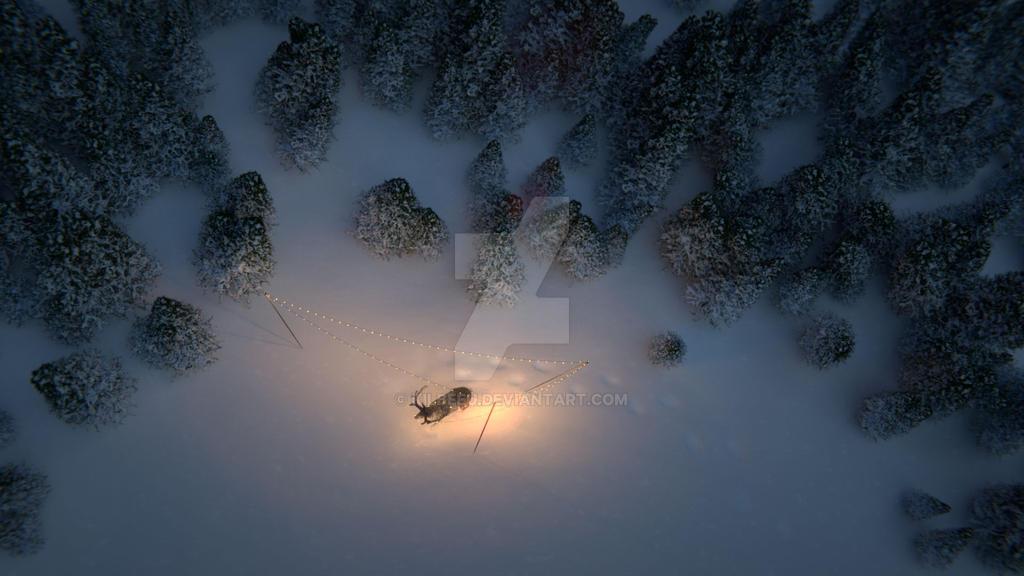Reindeer7 by kilbeeu