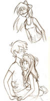 Kiss of Death sketches