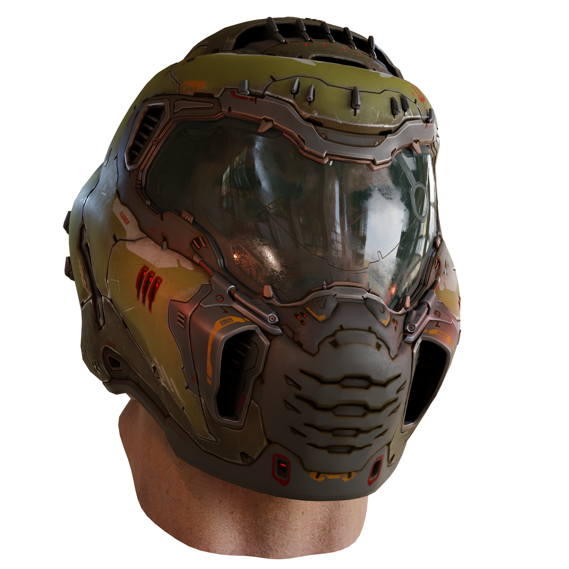 Doom Slayer Test Render Doom Eternal By Artydoesstuff On Deviantart