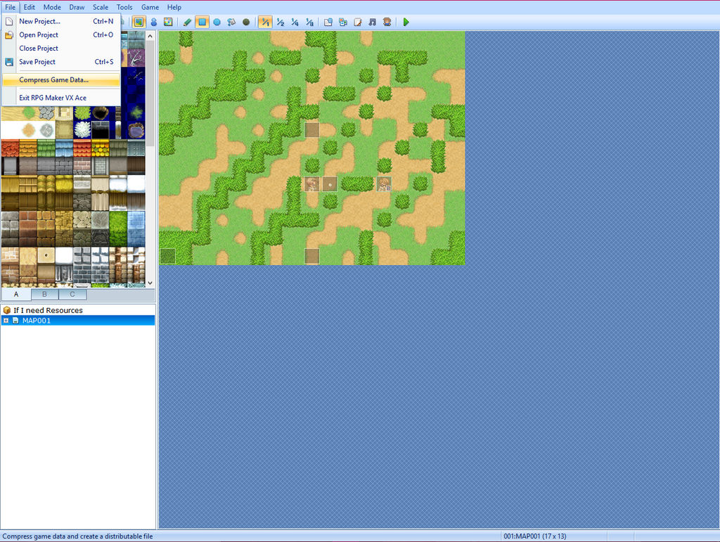RPG Maker Tutorial - Compressing and Extracting by IggyAlben