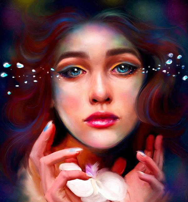 Little Mermaid by Kanamm on DeviantArt