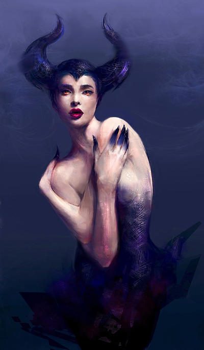Maleficent by Kanamm