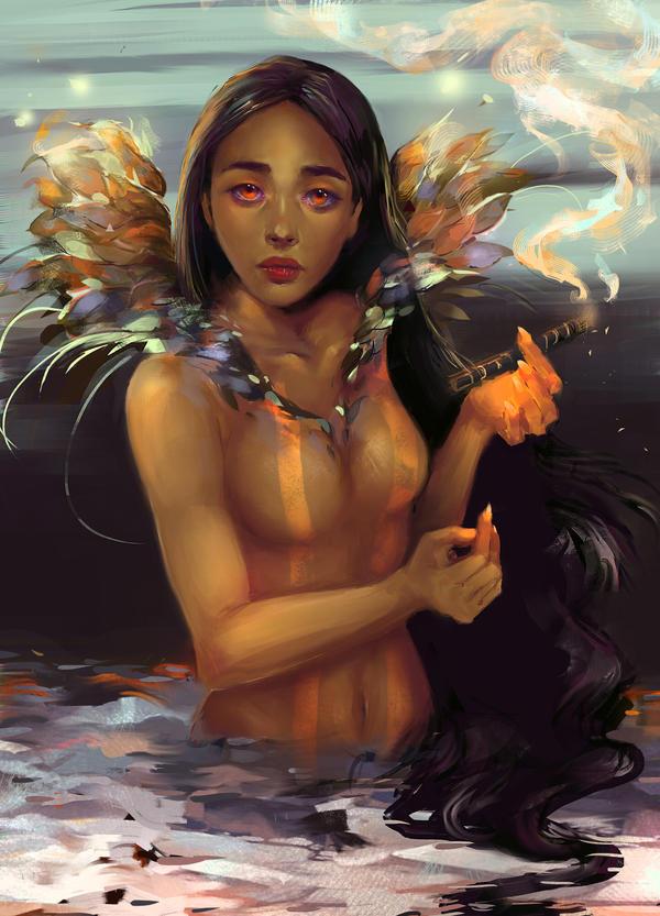 Pocahontas by Kanamm