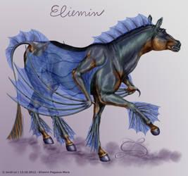 Eliemin - pegasus mare by Jordi-cz