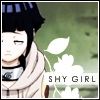 Shy Girl: Hyuuga Hinata by mishoo