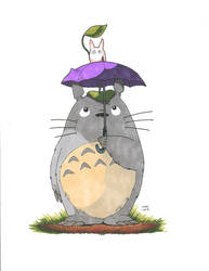 Totoro by the-pooper