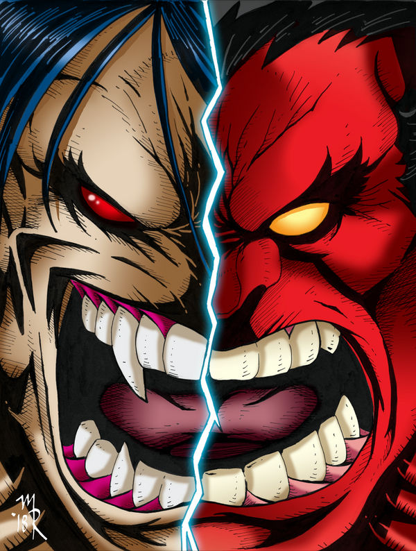 Pitt vs Red Hulk 3 WEB by the-pooper