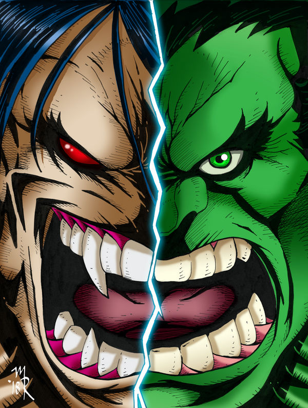Pitt vs Hulk WEB by the-pooper