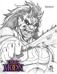 Ozzach Quick Sketch - The Dark Moon Saga