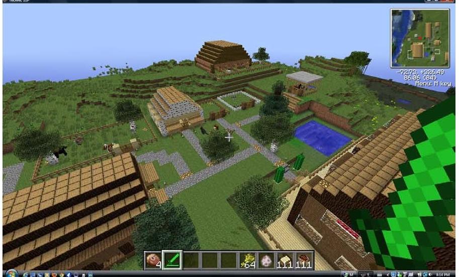My Minecraft Ranch by Maplewolfie on DeviantArt