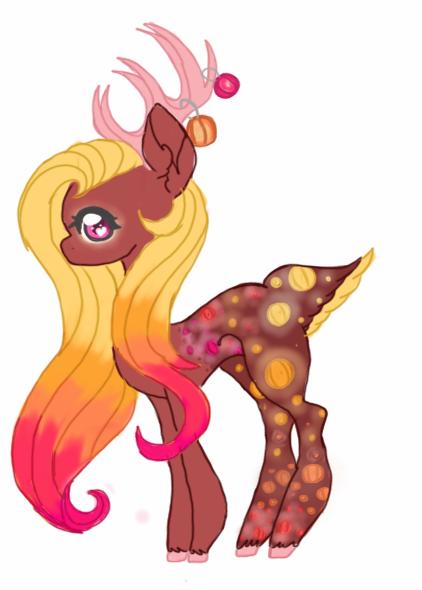 Lantern themed Deer OTA by luxrayfan33