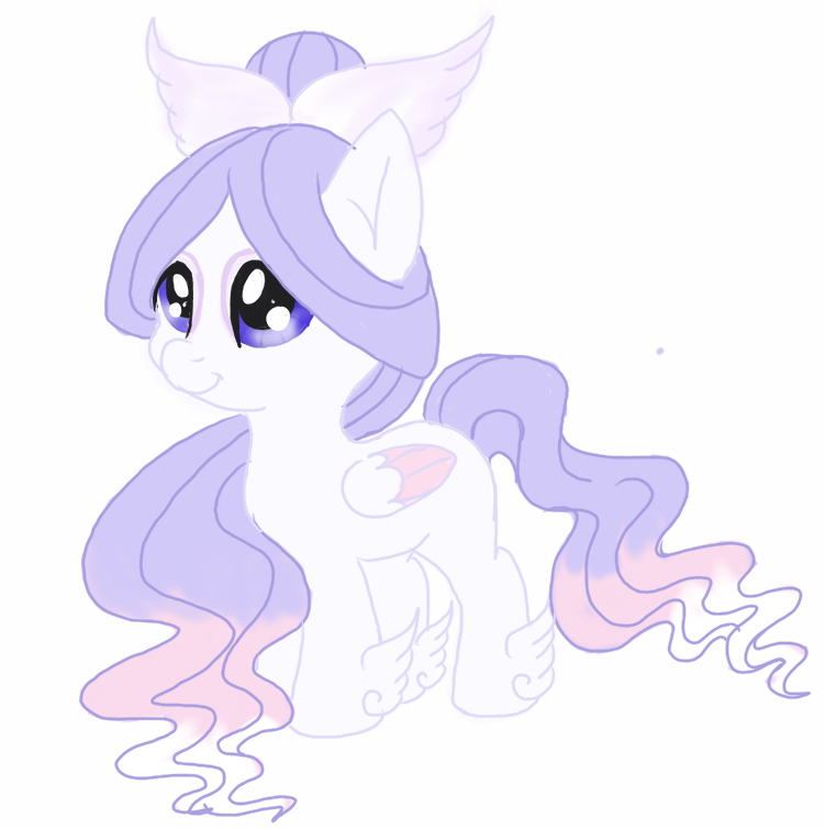 [Closed] Angelic Themed Pony Auction by luxrayfan33