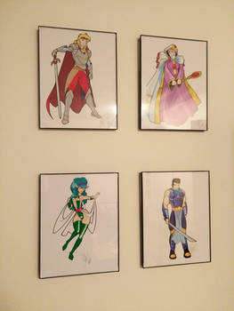 Dungeon Magic prints (art by Inspector97)