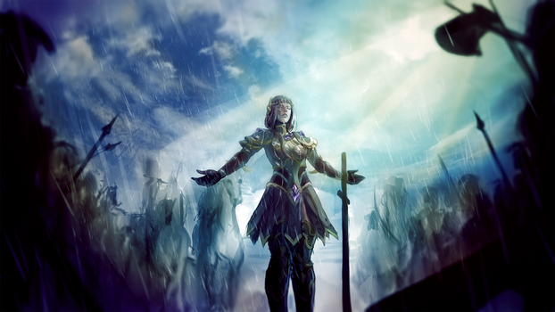 After the Battle (art by MintBreakArt)