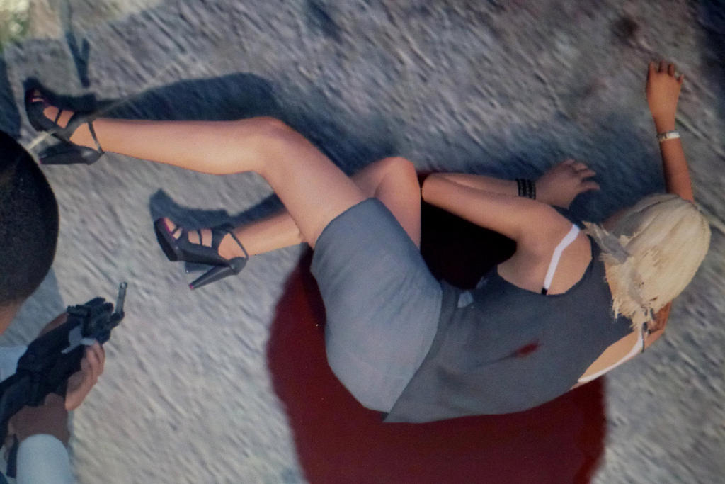 Dead woman crime scene gunned by gta5killer on DeviantArt