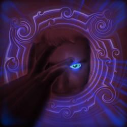 Hiding in the Purple by gusti-boucher