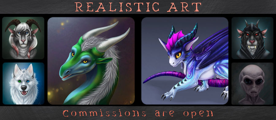 Realistic art - Commisions are Open