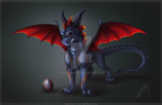 TLoS style Dragon - Dark Egg Adopt