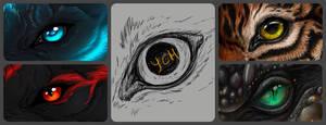 (OPEN) Eye YCH - Unlimited slots