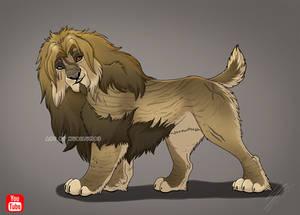 Lion for Olga Egorova [Timelapse video]