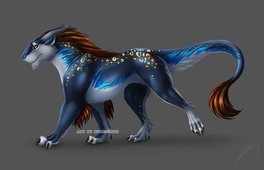 Felkin [furred dragon]
