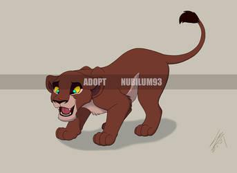 (CLOSED) Lion cub Adopt - Auction