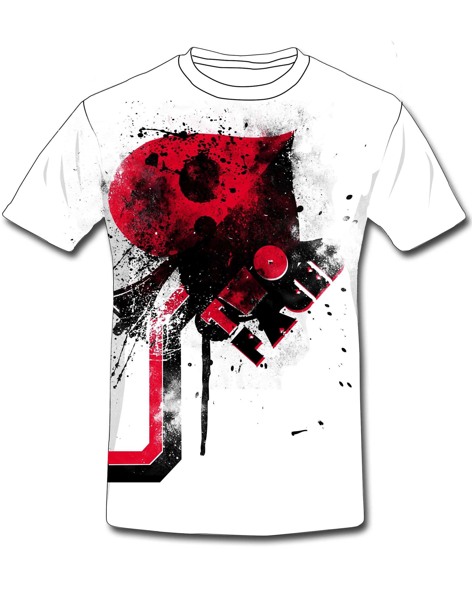Design t shirt back - Back