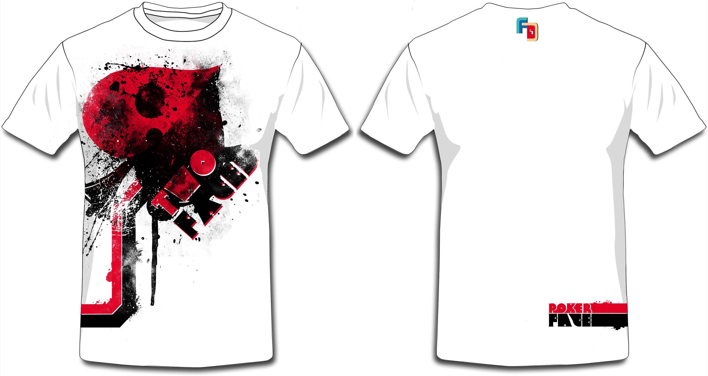 Shirt design white - Updated Versions