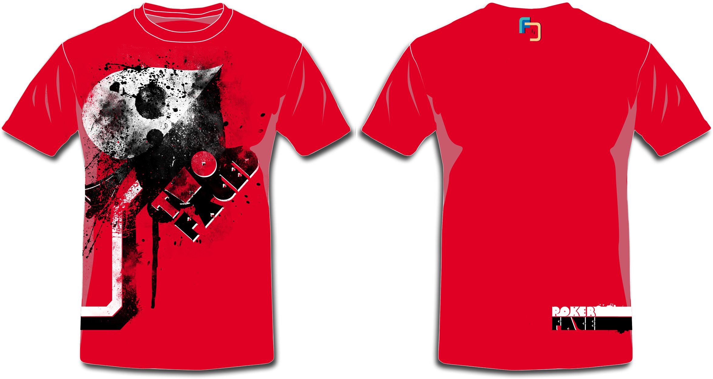 T shirt design red - Updated Versions