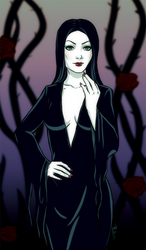 Morticia Addams by 27Smiles