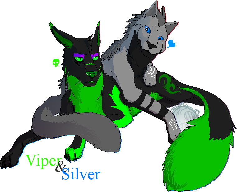 Viper and Silver by ThisPoisonedOne