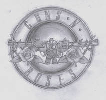 Guns 'n' Roses Album Art by nobody-cares