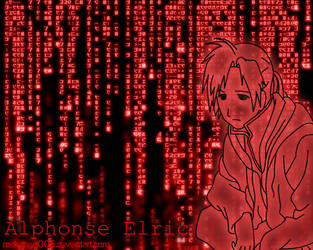 Alphonse in the Matrix by elric-fans