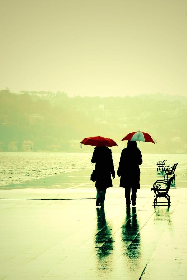 walking in the rain by skipper81