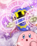 Magolor and Kirby